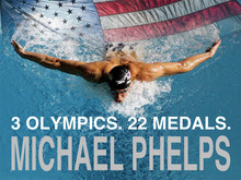 "Michael Phelps Swim Sports Silk Cloth Poster 32"" x 24"" 17""x13""--003(China)"