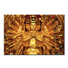 thousands hand Buddha art  Wall painting print on canvas for home decor ideas paints wall pictures  No framed oil painting