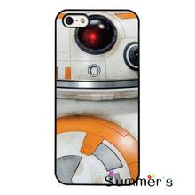 BB8 BB-8 Droid Star Wars Force Awakens phone case cover for iphone 4s 5s 5c 6s plus Samsung Galaxy S3/4/5/6/edge+ Note2/3/4/5