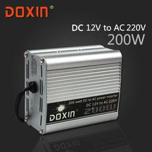 DOXIN DC/AC 200W DC 12V to AC 220V Auto Car power INVERTER Universal ST-N002