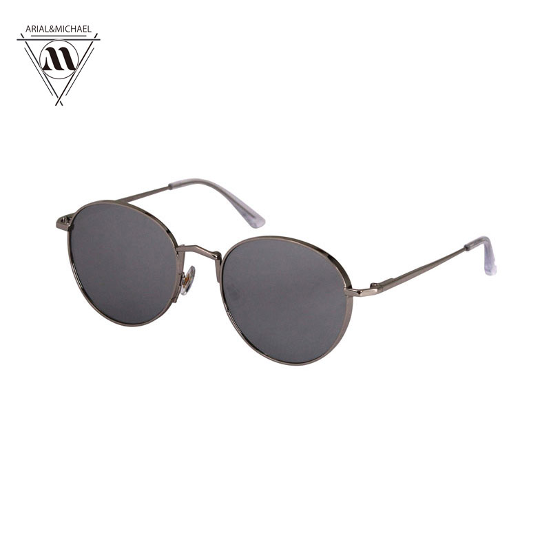 Arial&amp;Michael Fashion Style womens Sunglasses Round Metal Frame OCULOS de sol coating Sunglasses Retro Circle Sunglasses Unisex<br><br>Aliexpress