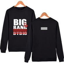 K-POP New Fashion Capless Sweatshirt BigBang 10th Anniversary Design Hoodies Women Large Size 4XL Hoodie Moletom Masculino