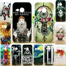 New Arrival Perfect Design Colored Paiting Case For HTC One M8 mini Back Cover Phone Cases For  HTC One Mini 2 Hot Selling