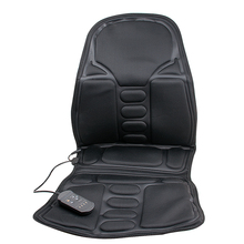 Back Massage Chair Heat Seat Cushion Neck Pain Lumbar Support Pads Car Health Care