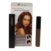 Brown Makeup Touch Up Brush TOPFASHION Card Box Packing 8.5 ml Cosmetic Temporary Cover Grey Hair Mascara (M9H)