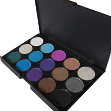3 Different New Fashion 15 Earth Color Matte Pigment Eyeshadow Palette Cosmetic Makeup Eye Shadow For Women