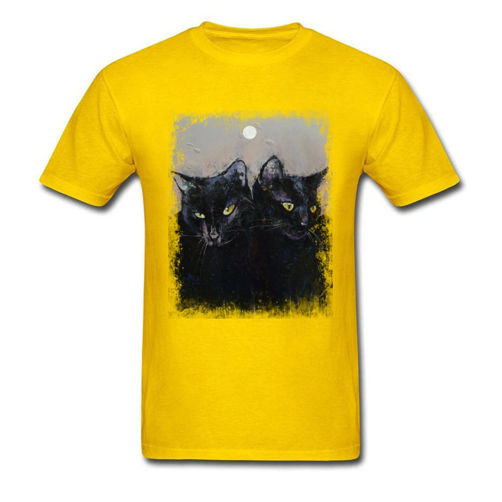 GOTHIC CATS_yellow