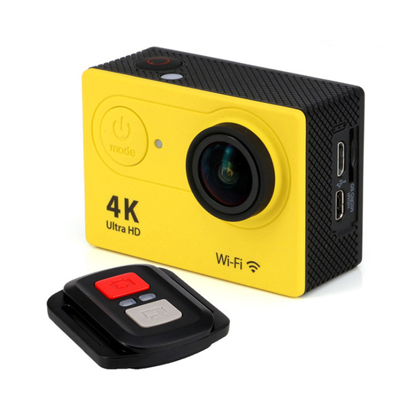 Action camera deportiva Original H9 / H9R remote Ultra HD 4K WiFi 1080P 60fps 2.0 LCD 170D go sport waterproof pro camera<br><br>Aliexpress