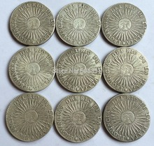 wholesale Argentina <1827-1837> 9 coins Free shipping(China)