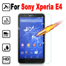 Tempered Glass for Sony Xperia E4 Screen Protector Protective Film cover Mobile Phone for Sony Xperia E4 Glass