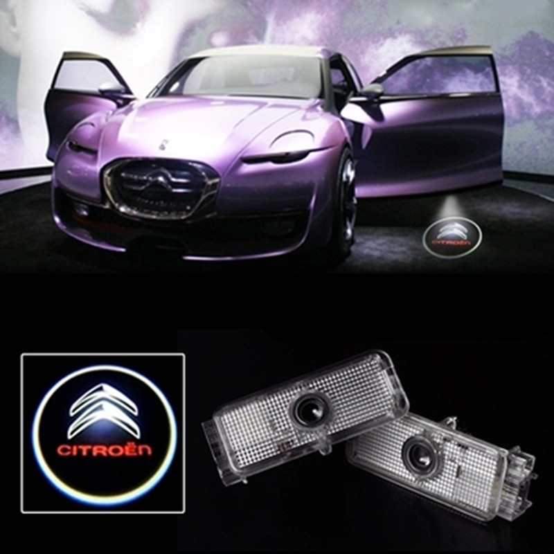 car projector logo lights welcome door Ghost shadow light LED for Citroen C5 The new Sega Citroen <br><br>Aliexpress