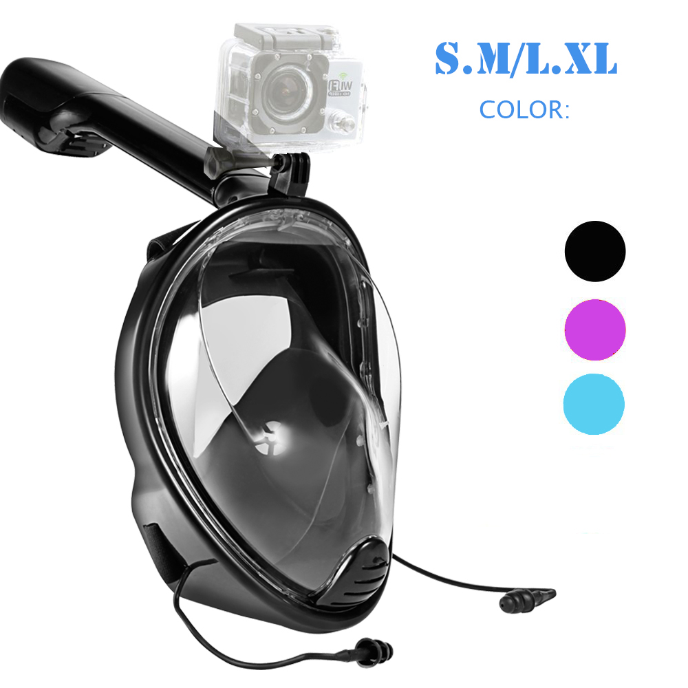 Snorkel mask waterproof