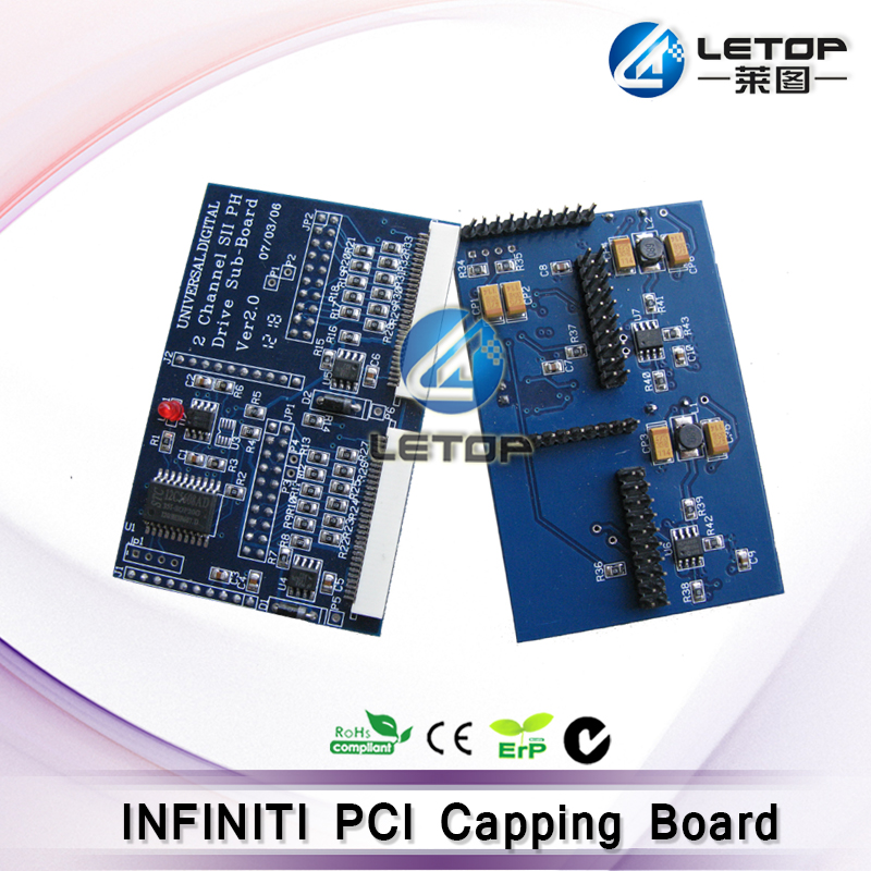 Wholesale! inkjet printer infiniti printer pci printhead capping board