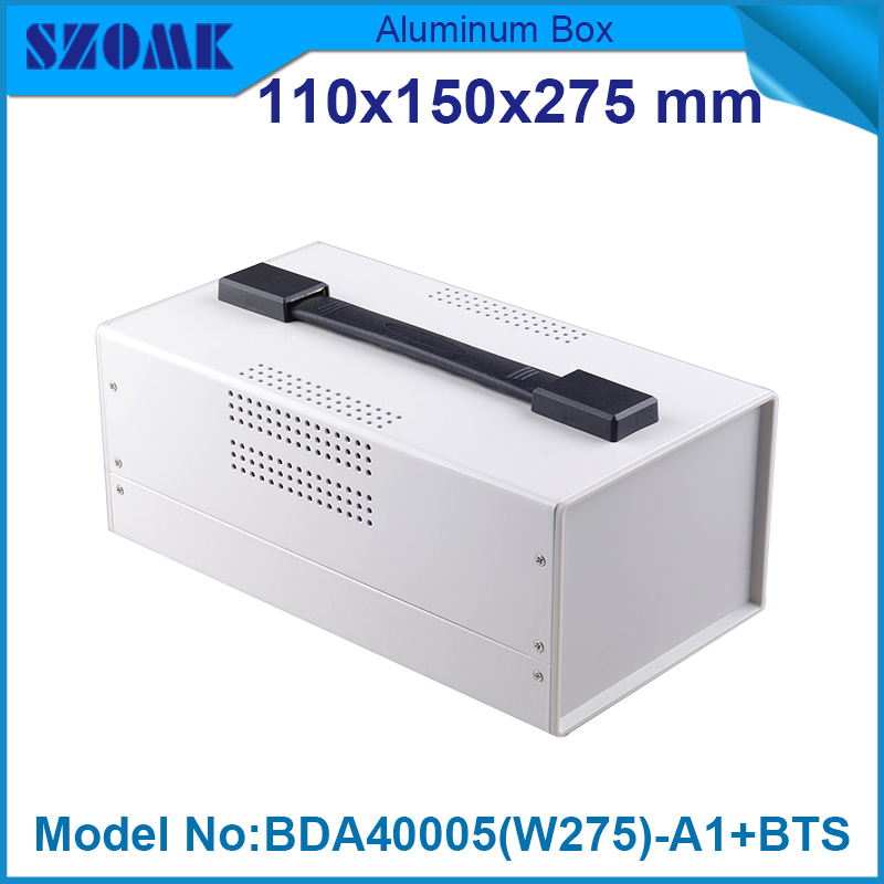 1 piece electronics iron material cabinet with abs plastic panels + screws in Black and white color both available109x149x275 mm<br>