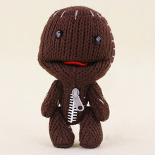 16CM cute Little Big Planet Plush Toy Sackboy Cuddly Knitted Stuffed Doll Figure Toys Kids for kids gifts(China)