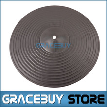"Practice Cymbals Drum Pads 12"" Practice Silent Low Noise PC Plastic Crash Hi-Hat Cymbals Pad NEW(China)"