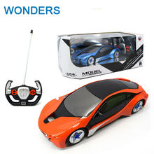 Cool verson 1:24 Concept racing cars RC Electric Remote Control Toys 4CH Radio Controlled Cars Classic Toys For Boys Kid Gift(China)