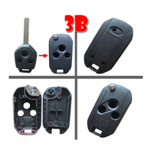 Remodeling Flip Remote Key For Subaru 3 Button Flip Key Shell Case