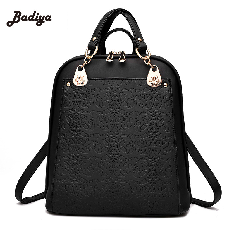 2017 New Fashion women backpack leather backpacks women bag school bags backpack Summer womens travel bags Rucksack bolsas<br>