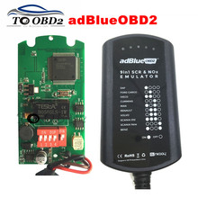 Newly Sale Adblue 9 IN 1 Works 9 Brand Trucks Diagnostic Interface Ad-Blue Supports EURO 4&5 Ad Blue Emulation Add For CUMMINS(China)