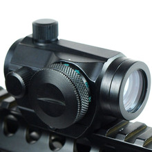 Red Dot Scopes Sight 20mm Mount Pistol Scope Optics Riflex Hunting Riflescopes Red Dot Airsoft Air Guns Scopes Holographic Sight(China)