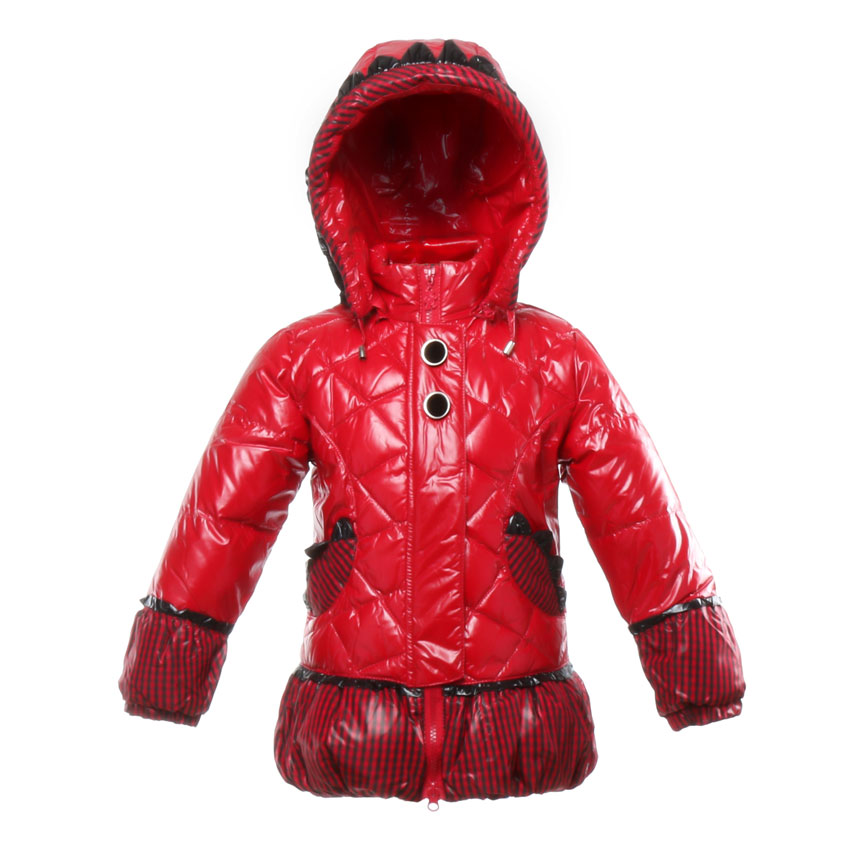 Girls Coat Fashion White Duck Down Jacket Lovely Detachable Hooded Parkas Keep Warm Outerwear Clothing For 4-6T Children BB6B03Одежда и ак�е��уары<br><br><br>Aliexpress
