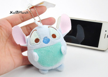 10PCS Super Kawaii NEW Stuffed Plush Toy , 9CM Approx. Plus Stuffed Plush ; Gift TOY With Cloth Clean Cotton Dolls(China)