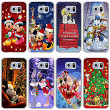 56 Cartoon characters Christmas Cover Case for Samsung Galaxy S3 S3 Mini S4 S4 Mini S5 Mini S6 S6  edge&plus S7 S7 Edge S8 plus