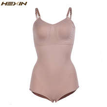 HEXIN Women Tummy Suit Body Shaper Slimming Bodysuits Corrective Shapewear with Pad Hot Shapers for Women Waist Shaper(China)