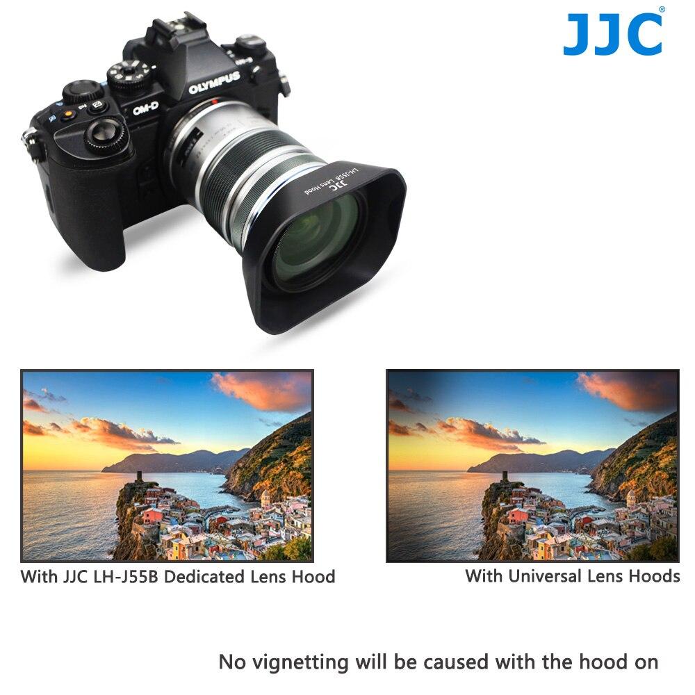 Lens Hood Metal 52mm black for Olympus 9-18 mm 4.0-5.6 ED EZ-M918