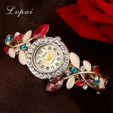 Lvpai Brand Fashion Crystal Women Dress Watches Watches For Women Dress Bracelet Wristwatch Cheap Luxury Female Lady Watches