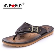 Buy MVP BOY Brand Men Slippers Casual Summer Slippers Shoes Men Lesiure EVA Platform Beach Slippers Flip Flops Male Slippers for $13.76 in AliExpress store