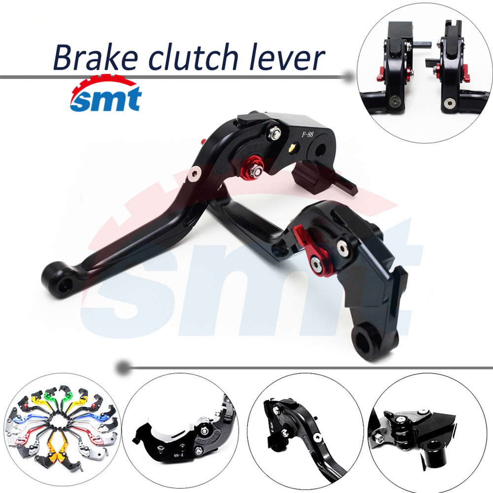 hot selling motorcycle brake lever xj6 foldable extendable brake clutch levers black color For HONDA X4 all have 8 colors<br><br>Aliexpress