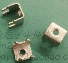 Free shipping  PCB-11 (M3) copper terminals solder terminals PCB board circuit board connection terminals screw terminals legs