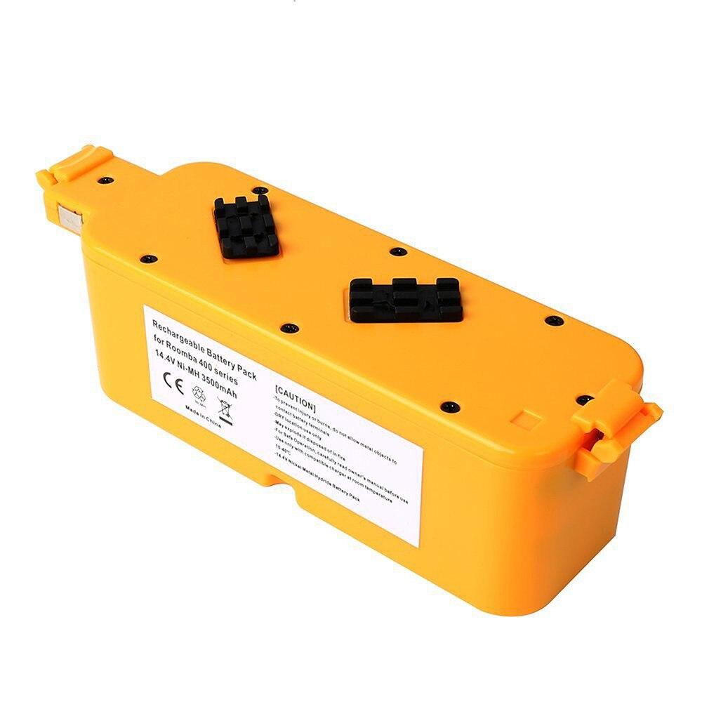 1 Pc Battery For iRobot Room-ba 400 405 410 415 416 418 Series 4000 4100 4105 4110 4210 4130 4232 4905 14.4V 3500mAh C T0.11<br>