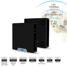 2G 32G TV Box Windows 10/8 Android Ubuntu 16.04 Mini PC Box TV Wifi Blueooth 4.0 Set-top Box Smart Android Box TV(China)