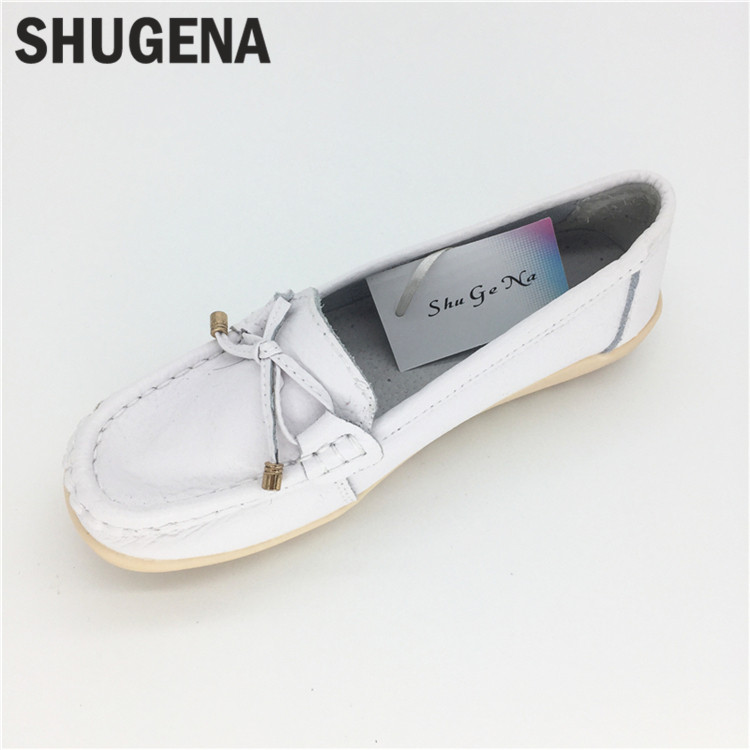 C24 Quality Handmade Flats Women Shoes Spring Women Flat Heel Soft Loafers Women Genuine Leather Shoes Zapato mujer<br>
