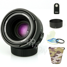 Buy Original YONGNUO YN 50mm f/1.8 AF Lens YN50mm Aperture Auto Focus Large Aperture Nikon Canon DSLR Camera AF-S 50mm 1.8G for $51.50 in AliExpress store