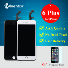 A+++ Quality LCD Display For iPhone 6 Plus Touch Screen Digitizer Assembly Replacement For iPhone 6 Plus LCD Screen White Black(China)