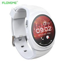 FLOVEME G1 Bluetooth Smart Watch for iPhone IOS Android Smartphones Smartwatchs NFC Phone Calls SMS Notification WristWatch