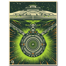 Star Trek 3 Beyond Art Silk Fabric Poster Print 13x18 24x32 inch 2016 New Movie USS Enterprise Picture for Room Wall Decor 001