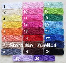 Kids Headbands Crochet Headbands 150 pcs/lot 26 Colors For Your Pick  Free Shipping