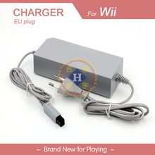 EU 110V 220V Home Wall Power supply charger AC Adapter For Wii Console