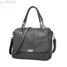 CONEED Messenger Bags High Quality PU Leather Women's Shoulder Bag Crossbody Bags Casual Famous Brand Popular Ladies Handbag(China)