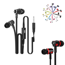 JM21 JM26 Stereo Earphone Super Bass Noise Canceling Headphones With Microphone Gaming Headset For Mobile Phone Mp3 Player(China)
