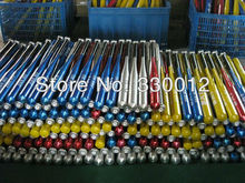 1pc 30 inch (74cm) baseball bats aluminium alloy baseball bat sports blue red silver black to mix