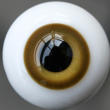 [wamami] 14mm SaddleBrown & Tan For BJD DOD AOD Doll Dollfie Glass Eyes Outfit(China)