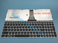 Original New RUSSIAN keyboard for Lenovo Z50 70 75 Z50-70 Z50-75 Series laptop Russian keyboard Silver Frame(China)