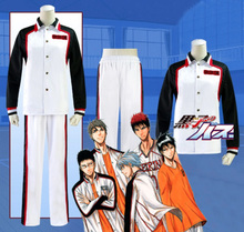 Anime Kuroko no basuke Kuroko Tetsuya Makotorin school Team Uniform cosplay costume Full set in stock customize any size NEW(China)
