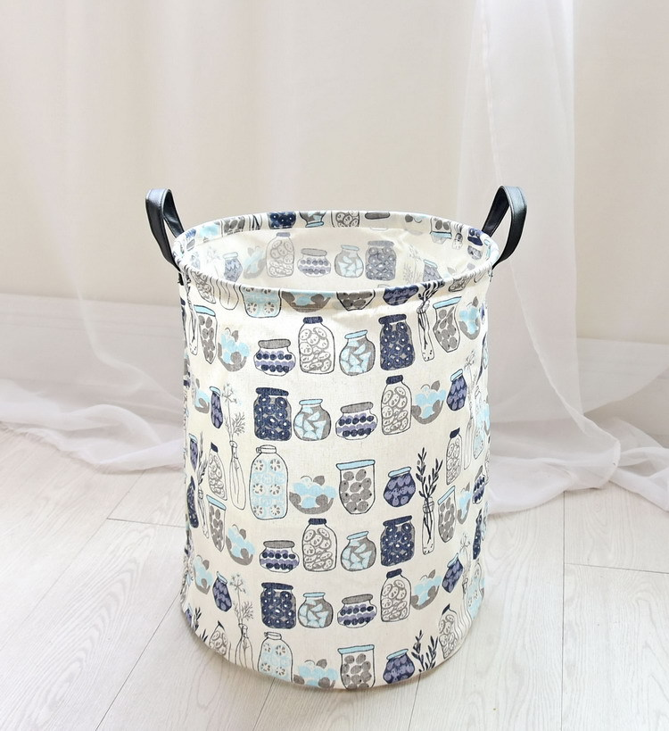 Free shipping Laundry Basket Storage 40*50cm Large Basket For Toy Washing Basket Dirty Clothes Sundries Storage Baskets Box 17
